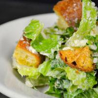 Barbados Creamy Roasted Garlic Caesar Salad - on the dine-in menu.